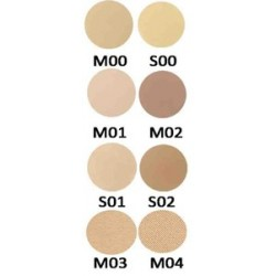 Mila Marzi PRO Maquillaje Compacto Polvo Pro (Rep. de 59mm) x 10grs. Modelador mate Claro