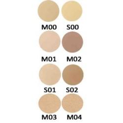Mila Marzi PRO Maquillaje Compacto Polvo Pro (Rep. de 59mm) x 10grs. Modelador mate Oscuro