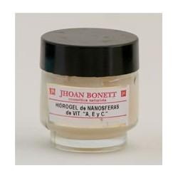 Jhoan Bonett Hidrogel con nanosferas de vitamina A, E Y C