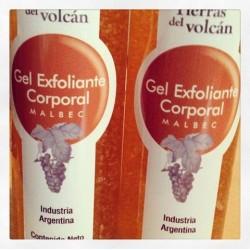 Tierras del Volcan gel pulidor maxima exfoliacion x 200 gr.