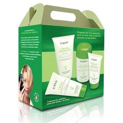 BioCosmética Exel MiniSet Tratamiento Estético para piel Grasa o Acneica