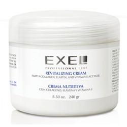 BioCosmética Exel Crema Nutritiva con Colágeno, Elastina y Vitamina E x 240 gr.