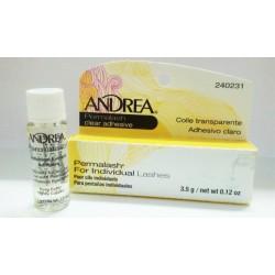 Andrea adhesivo clear para pestañas individuales