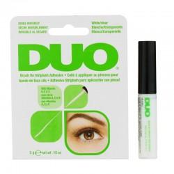 DUO Adhesivo Striplash para Aplicación con Pincel Blanco/Transparente