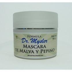 Formula Dr Mysler Mascara de malva y pepino x 60 gr.