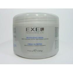 BioCosmética Exel Crema Nutritiva con Colágeno, Elastina y Vitamina E x 500 gr.