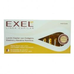 BioCosmética Exel Loción Capilar Nutritiva 10 Amp.