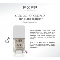 BioCosmética Exel Royal Nails BASE DE PORCELANA