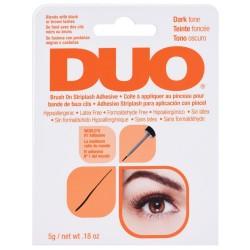 DUO Brush On Striplash Adhesive with Vitamins - Pegamento para Pestañas en Banda para Aplicación con Pincel - Dark x 5 g