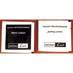 Dermolash Permanentador + Neutralizante 2 Sachet x 1 ml.