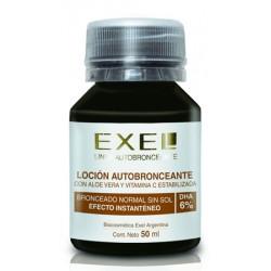 BioCosmética Exel Locion autobronceante 6% con color