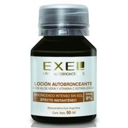 BioCosmética Exel locion autobronceante 8% con color