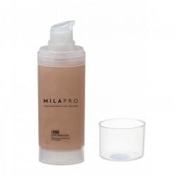 Mila Marzi PRO Maquillaje Hidratante Siliconado Pro (Botella con dosificador) x 30cc. Marfil