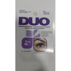 DUO Individual Lash Adhesive - Pegamento para Pestañas Individuales - Clear x 7 g
