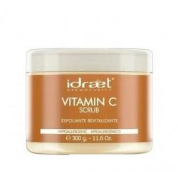 Idraet VITAMIN C SCRUB - Crema Gel Exfoliante Revitalizante con Vitamina C x 300gr