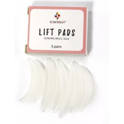 Dermolash Lift Pads de siliconas