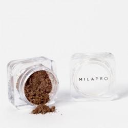 Mila Marzi PRO Sombra en Polvo Perla (Pote) x 1gr. Canela Satinado