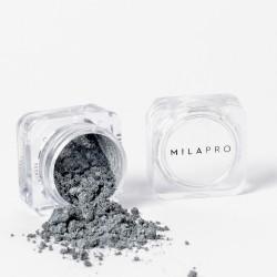 Mila Marzi PRO Sombra en Polvo Perla (Pote) x 1gr. Perla plata Metalico