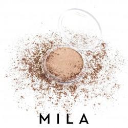 Mila Marzi Maquillaje Compacto Polvo Satinado - Arena